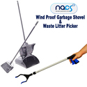 Wind Proof Waste Picker Garbage Shovel