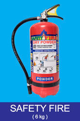Safety Fire Dry Powder Fire Extinguisher