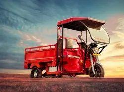 HOP E Rickshaw Loader, Maximum Run Per Charge: 60-80 km, Loading Capacity: 500-1000 kg