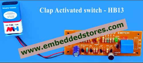 Diy voice clap activated switch at rs 350 piece diy bead kit diy voice clap activated switch solutioingenieria Gallery