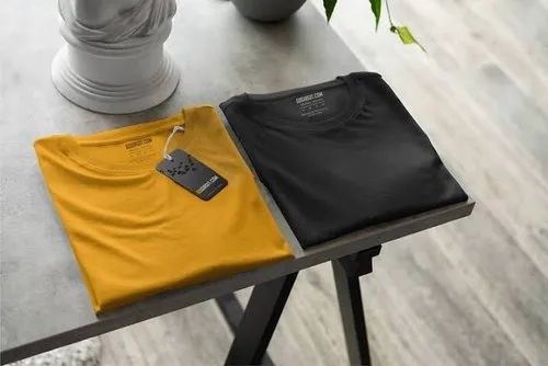 Cotton Plain Mens T Shirts