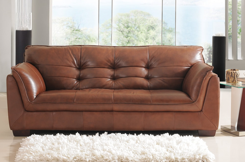 Barclay Leather Sofa 3 Seater