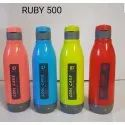 Multicolor Plastic Insulated Water Bottle, Model Number: Ruby 500, Size: 500 Ml Approx