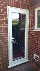 UPVC Single Glass Door