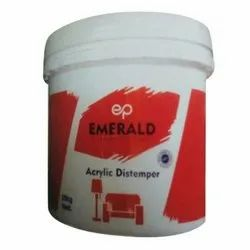 Emerald Acrylic Distemper Paint, Packaging Type: Bucket, For Brush And Roller