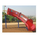 Tube Playground Slide