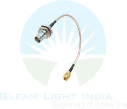 RF Cable Assembly SMA Male to TNC Bulkhead in RG316