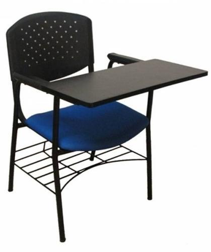 Pvc Black And Blue Prima Full Writing Pad Chair Rs 2450
