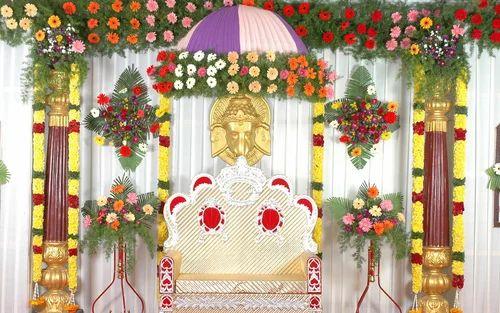 Wedding Stage Decoration Services In Gandhipuram Coimbatore
