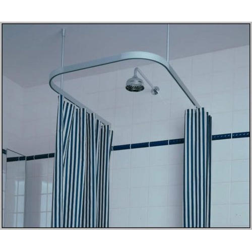 Aluminium Bathroom Curtain Track