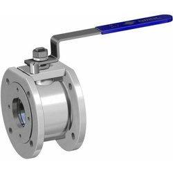 Single Piece Design SS 316 Body Manual Ball Valve With Lever Stark Series - OMAL : Italy