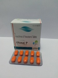 Acelofenac 100 mg Thiochicoside 4 mg Tablets