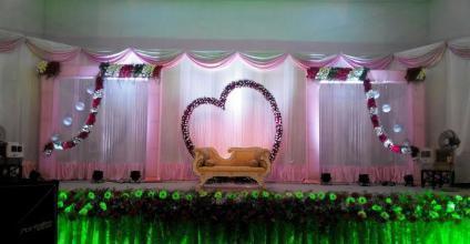 Stage Decorations, स्टेज डेकोरेशन in Iyer Bungalow ...