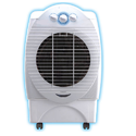White Alternative Air Conditioners System