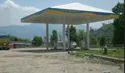 Iron Bharat Petroleum Petrol Pump Canopy Fabrication Service