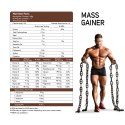Mass Gainer Cappuccino Coffee 3 kg