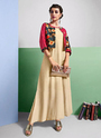 Jacket Style Rayon Kurtis