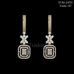 American Diamond Hanging Earring