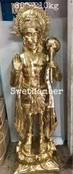 brass hanuman large statue, For Decoration