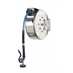 T&S Brass Kitchen Cleaning Water Hose Reel