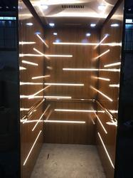 Lift Cabin in PVC Laminated sheet