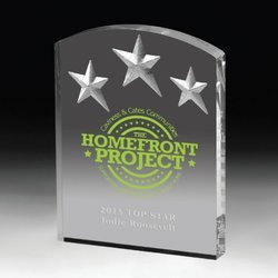 Star Designer Acrylic Trophy