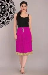 Jaipuri Short Skirt