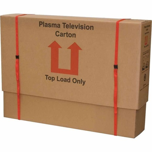 Brown Cardboard Television Packing Boxes,  for Packing of Television