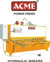 Hydraulic Sheet Cutting Machine