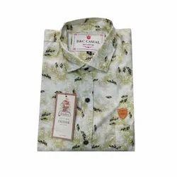 Cotton Regular Fit Mens Stylish Shirt