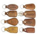 Customized Leather Keychains