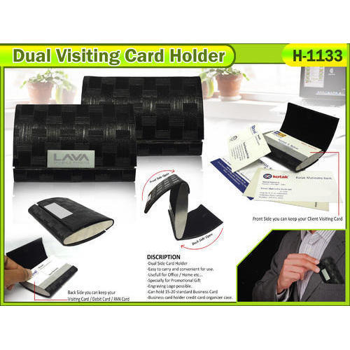 Visiting card holder size 25x375x075mm rs 100 piece id visiting card holder size 25x375x075mm reheart Images