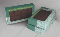 Duplex board Chocolate Boxes, Box Capacity: 0-1 kg