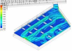 Basement Flow Distribution CFD Analysis