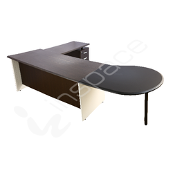 AMBASSDOR - Chairman Table (Without Connector)