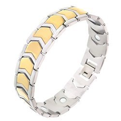 Bio Magnetic Stainless Steel Bracelet