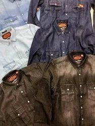 Superdry Resurrection Denim Shirts