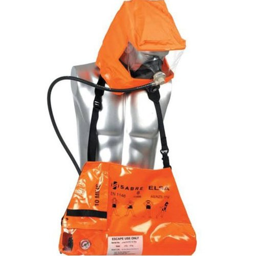 Emergency Escape Breathing Apparatus, For Emergency Breathing, Max Working Pressure: 21 Mpa