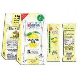 Lemon Glucose Gel, Packaging Type: Packet
