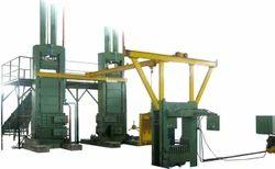 Hydraulic Coir Fibre Baling Press (150 Kg)