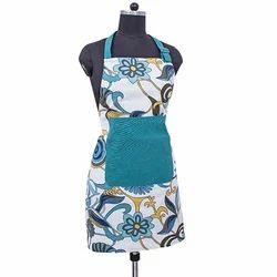 Swayam Deal Collection Striped Cotton Kitchen Apron - Multicolour