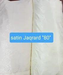 Satin Jaqrard 80 Cotton Fabric