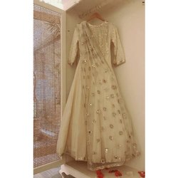 Party wear Silk Ladies Designer Anarkali Suit