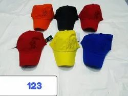 New Color Cotton Caps Code 123