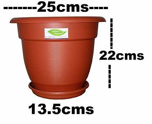 500 X 5 Litre Plant Pots Strong Plastic Black Flower Pot L LT High Quality