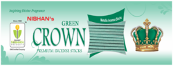 Metallic Green Incense Sticks