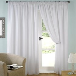 Customizable 100% Polyester Voile Curtain, Size: Customizable