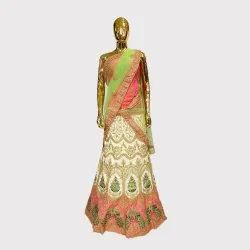 Off White Fancy Lehenga