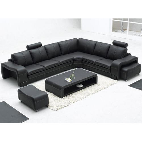 sports shoes 852dd 4547b Leather Sectional Sofa Set