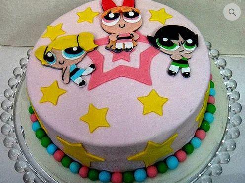 Powerpuff Girls Cake At Rs 1280 Piece